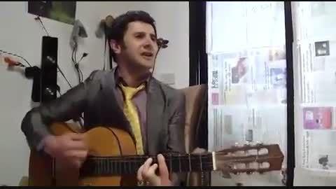 گیتار نوازی امین حیایی!!فوق العادس