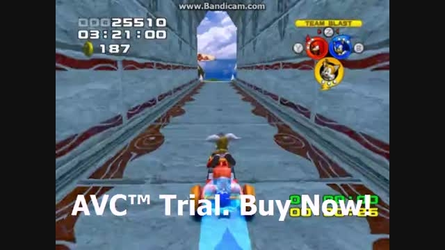 Sonic Heroes - Seaside Hill Stage 01 - Team Sonic