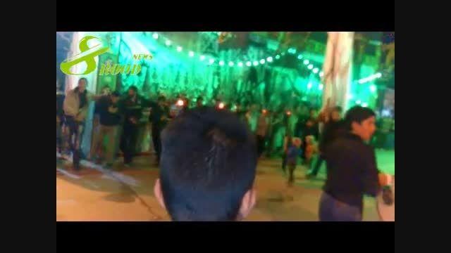 شب سوم محرم در هشترود+ عکس و ویدئو (محله سیلو)
