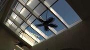 سقف متحرک مکانیکی و هوشمند پاسیو و استخر و رستوران