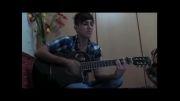 اجرای آهنگ احساسی دل من (امید عامری)با گیتار