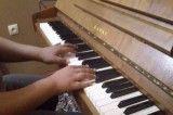قطعه زیبای آدلین با پیانوی خودم