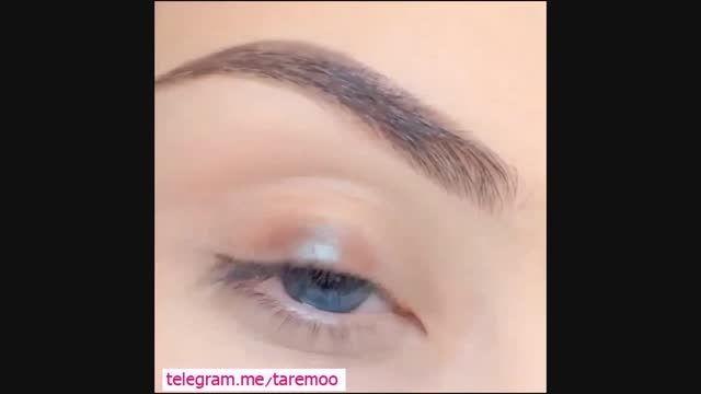 آرایش و میکاپ چشم زیبا و دخترانه  در تارمو