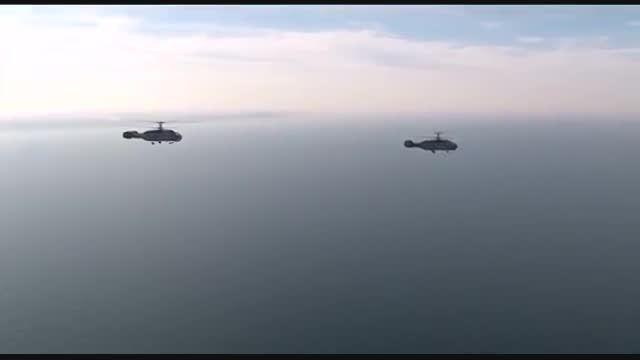 عملیات ضد زیر دریایی توسط بالگرد های کاموف روسی