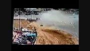 سانحه در مسابقات اتومبیل رانی...
