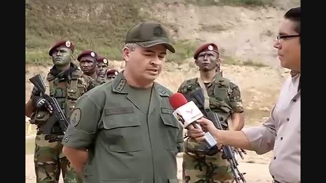 اسلحه AK-103 ونزوئلا