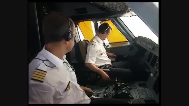سیستم قفل درب کاکپیت در هواپیماهای ایرباس ( Airbus )