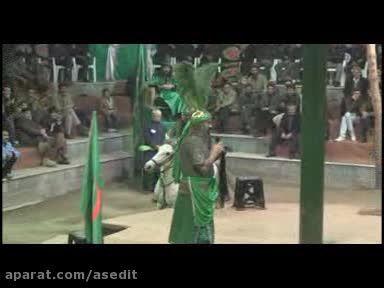 مراسم تعزیه شهادت حضرت ابوالفضل- حسینیه تخماقلو