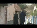 لحظه تیر خوردن جوان بحرینی
