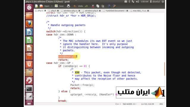 قسمت دوم دانلود فیلم فارسی شبیه سازی شبکه NS2