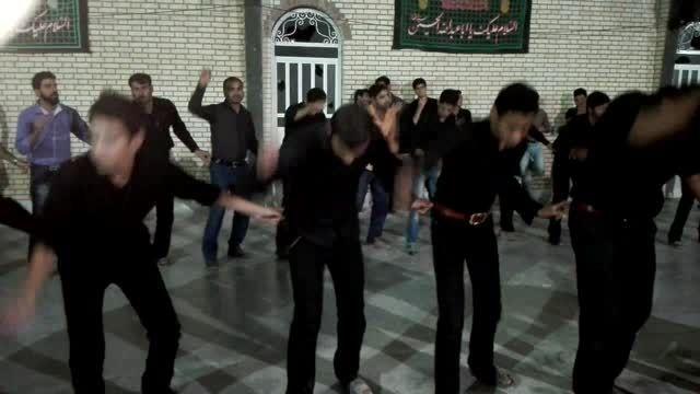 عزاداری شب هفتم ماه محرم روستای زیراب فارس سال 1394