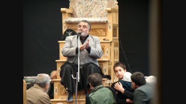 روضه حضرت علی اصغر در بیت مرحوم آیت الله امامی سدهی
