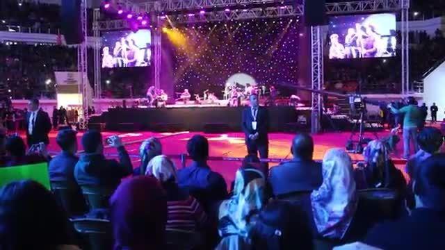 سامی یوسف-اجرای ترانه Go در کنسرت آنکارا 2015