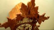 ساعت دیواری پاندولی چوبی