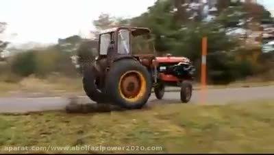 تراکتوری سوپر دار خیلی قوی خیلی باورنکردنی است؛حتما ببی