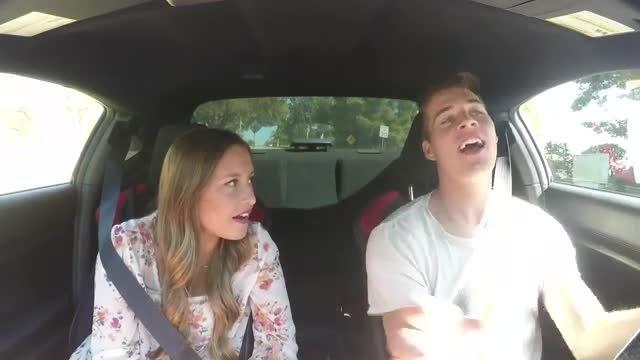 یاد دادن رانندگی به یه دختر خخخخ