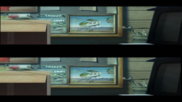 قسمت کوتاه فیلم سه بعدی Planes 2 2014 HD 3D دوبله فارسی