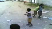 رقص بچه های کوچیک آفریقایی (دل شاد به ثروت نیست)