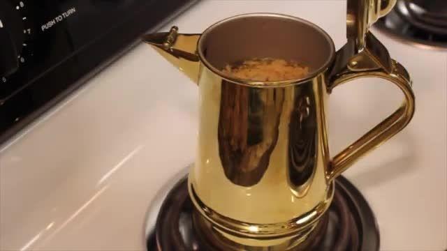 آموزش تهیه قهوه عربی