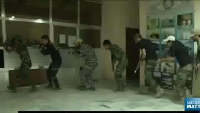 آموزش نیروهای مردمی عراق برای مبارزه با داعش