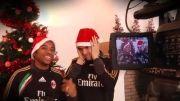 تبریک کریسمس توسط کاکا و میلانیا