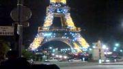 برج ایفل در شب