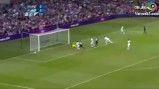 المپیک 2012 لندن - بریتانیا در برابر اروگوئه - هایلایت های بازی + گل زیبای بریتانیا