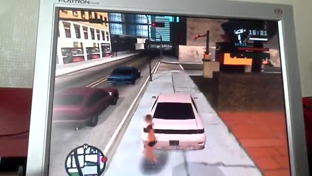 چرخ زدن با ماشین در جی تی ای سان اندرس