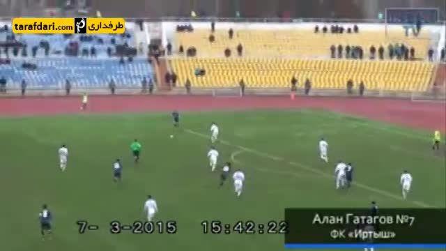 گل زیبای روز (40) - گل استثنایی در لیگ قزاقستان