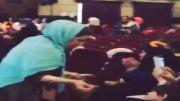 اجرای رضا یزدانی در مرکز طبی کودکان
