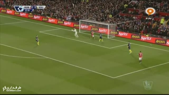 خلاصه بازی منچستر یونایتد 0-1 ساوتهمپتون