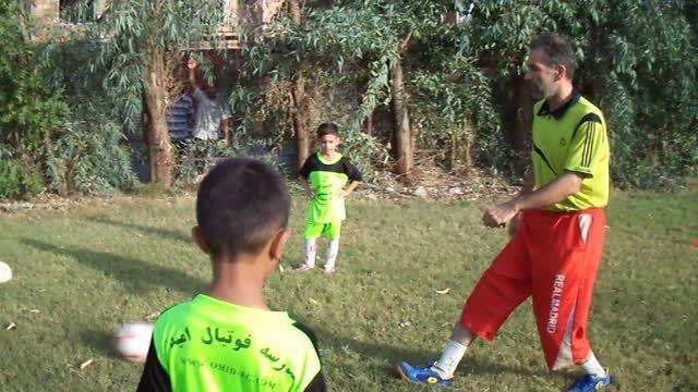 آموزش فوتبال زیر7سال-مدرسه فوتبال امید مینودشت