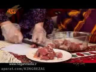 چکدرمه - غذای سنتی ما ترکمن ها