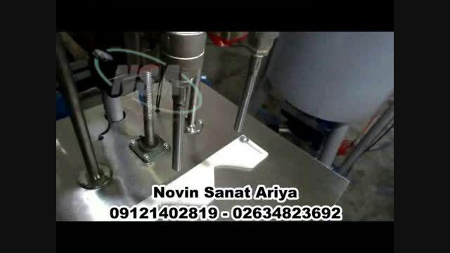 دستگاه پرکن نیمه اتوماتیک مایعات غلیظ (پرکن گیریس سرد)