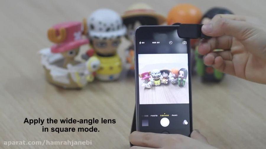 معرفی لنز کلیپسی (کلیپ لنز) مخصوص دوربین گوشی موبایل