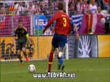 گلهای بازی اسپانیا و ایتالیا (( یورو 2012 ))