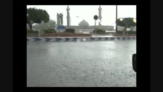 نماهنگ باران در اشکنان.باراش قطرات زیبای باران