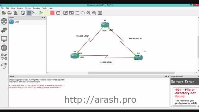 آموزش تنظیم پروتکل EIGRP بر روی روترهای سیسکو