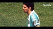کلیپی از حرکات نمایشی مسی برای تیم ملی آرژانتین