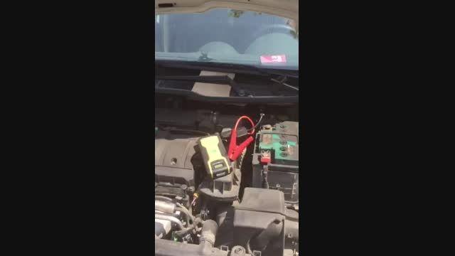 تست دستگاه شارژر باتری