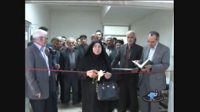 افتتاح درمانگاه بیمارستان حضرت محمد (ص) میمه