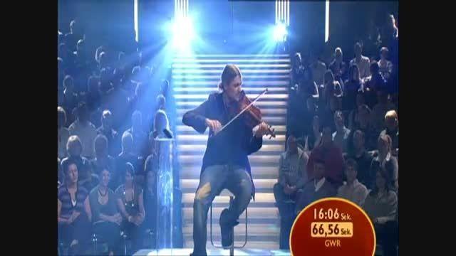 رکورد سریعترین نوازنده ویولن در  جهان