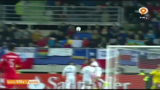 خلاصه بازی: بولیوی ۱-۳ پرو