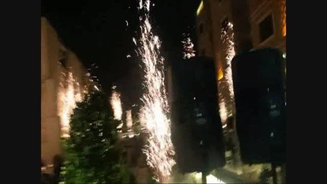 فیلم آتش بازی هتل 5 ستاره زندیه شیراز