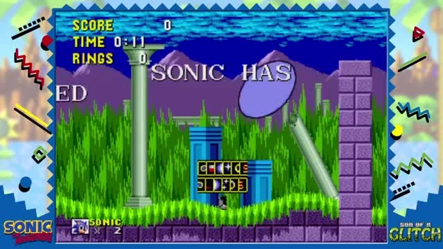 son of a glitch sonic the hedgehog 1