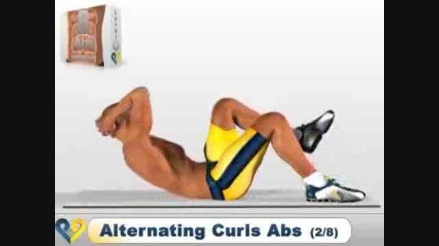 تمرینات مؤثر برای عضلات شکم