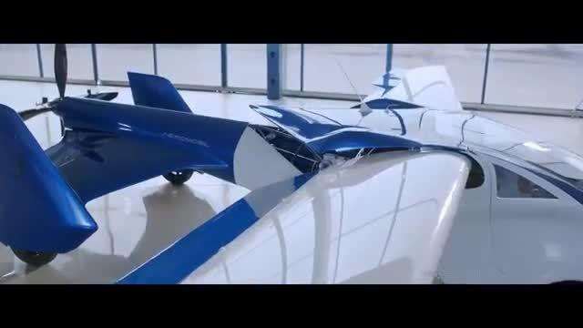 سقوط خودروی پرنده در پرواز یک پرواز آزمایشی