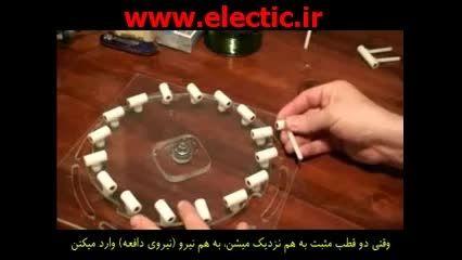 تولید برق رایگان با آهن ربا