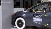 آزمون تصادف Toyota Corolla 2014 - خودروسازی