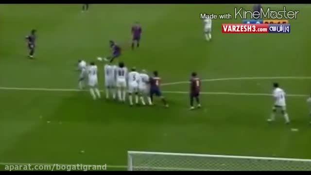 10گل برتر رئال مادرید و بارسلونا